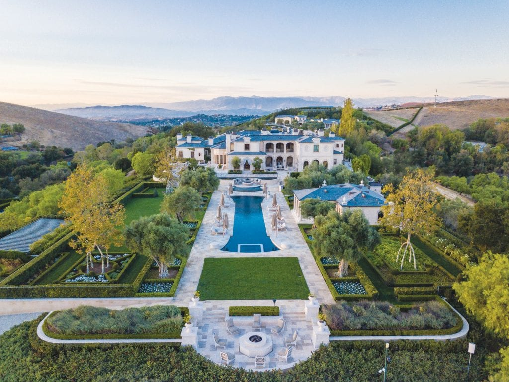 OFF THE MARKET—Former Legendary Pictures CEO Thomas Tull has sold his sprawling North Ranch compound for the highest price ever recorded west of the 405 Freeway and north of the 101. Courtesy of Jordan Cohen