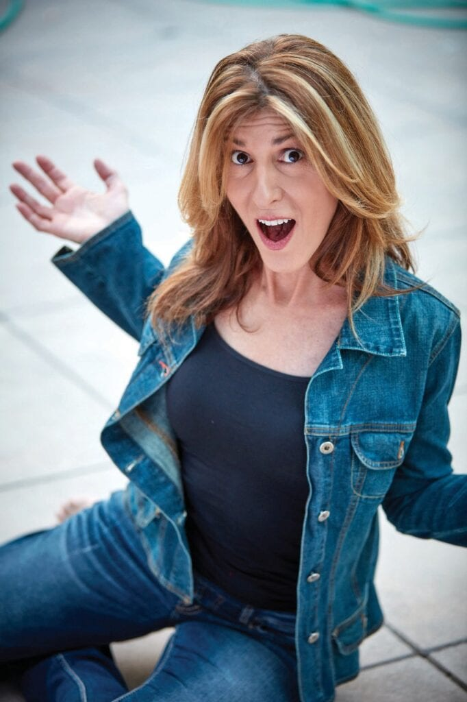COMEDIAN—Frances Dilorinzo will perform in a virtual New Year's Eve show presented by Senior Concerns from 6 to 7 p.m. Dec. 31. Courtesy photo