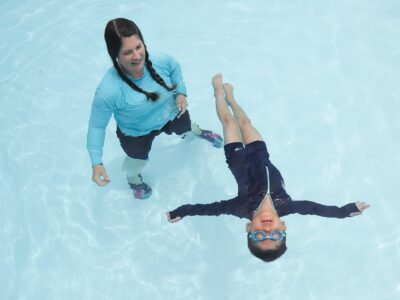 She's on a mission to ensure little swimmers have lifesaving skills