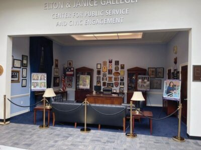Congressman's replica office to be removed from CLU library