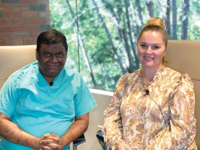 New tech helps doctor fix woman's birth defect